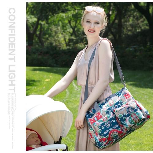 Insular Baby Diaper Bag Handbag Large Capacity Mummy Nappy Nursing Bag Travel for Baby Care BlossomHome &amp; Garden<br>Insular Baby Diaper Bag Handbag Large Capacity Mummy Nappy Nursing Bag Travel for Baby Care Blossom<br>