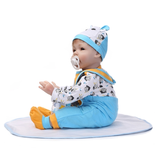 22inch 55cm Reborn Toddler Baby Doll Boy PP filling Silicon Doll Boneca With Clothes Lifelike Cute Gifts ToyHome &amp; Garden<br>22inch 55cm Reborn Toddler Baby Doll Boy PP filling Silicon Doll Boneca With Clothes Lifelike Cute Gifts Toy<br>