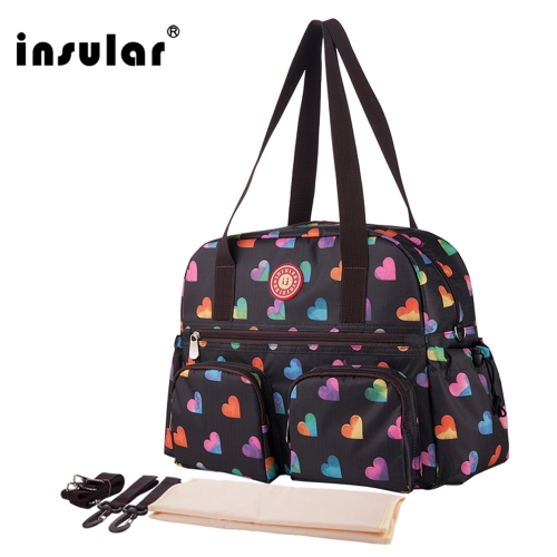 Insular Baby Diaper Bag Handbag Large Capacity Mummy Nappy Nursing Bag Travel for Baby Care RedHome &amp; Garden<br>Insular Baby Diaper Bag Handbag Large Capacity Mummy Nappy Nursing Bag Travel for Baby Care Red<br>