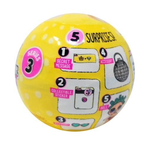 24Pcs L.O.L Surprise Doll Series 3 Lil Sisters Ball 7CmHome &amp; Garden<br>24Pcs L.O.L Surprise Doll Series 3 Lil Sisters Ball 7Cm<br>