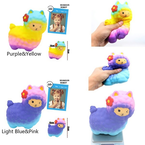Squishy Slow Rising Color Sheep Toy Scented Soft Phone Straps Pendant Squeeze Decompression ToysHome &amp; Garden<br>Squishy Slow Rising Color Sheep Toy Scented Soft Phone Straps Pendant Squeeze Decompression Toys<br>