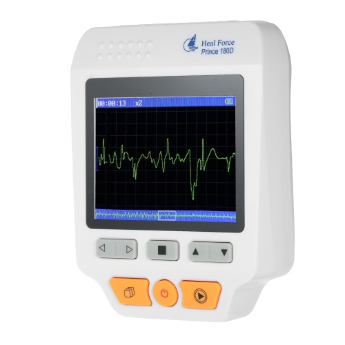 Heal Force Medical Portable ECG EKG Monitor Machine 3 Channel Heart Rate MonitorHealth &amp; Beauty<br>Heal Force Medical Portable ECG EKG Monitor Machine 3 Channel Heart Rate Monitor<br>