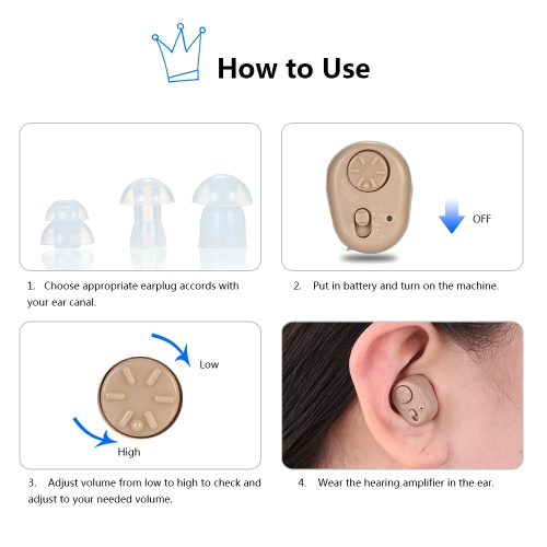 AXON Digital Ear Hearing Amplifier ITC Volume Control CE &amp; ROHS ApprovedHealth &amp; Beauty<br>AXON Digital Ear Hearing Amplifier ITC Volume Control CE &amp; ROHS Approved<br>