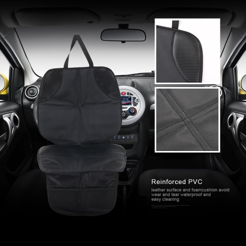 Car Seat Protector Seat Back Cover Pet Mat Full-Length Padded Waterproof Non-slip For Baby Infant Kid Safety Seat PVC LeatherHome &amp; Garden<br>Car Seat Protector Seat Back Cover Pet Mat Full-Length Padded Waterproof Non-slip For Baby Infant Kid Safety Seat PVC Leather<br>
