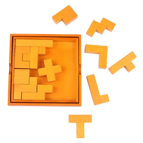 Wooden Jigsaw Puzzle 13 Pieces 3D Chunky Puzzle Building Block Early Educational Develoment Toys Gifts for KidsHome &amp; Garden<br>Wooden Jigsaw Puzzle 13 Pieces 3D Chunky Puzzle Building Block Early Educational Develoment Toys Gifts for Kids<br>