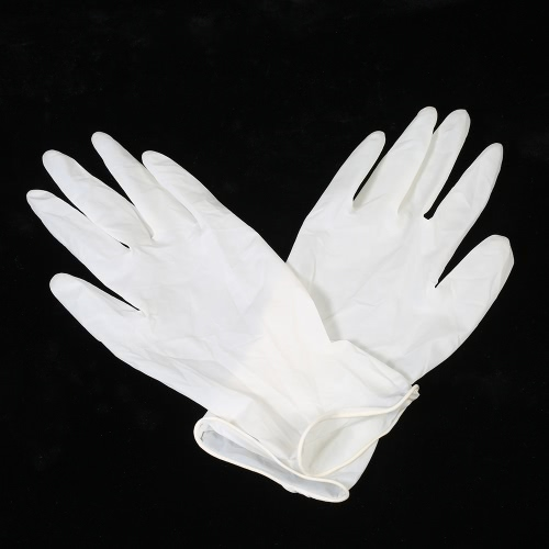 Decdeal 100PCS Disposal Latex Gloves Powder Free Exam GlovesHealth &amp; Beauty<br>Decdeal 100PCS Disposal Latex Gloves Powder Free Exam Gloves<br>