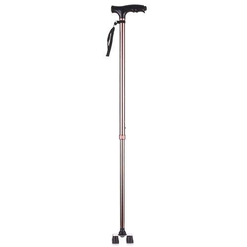 Aluminum anti-skid Crutches with LED lights 10 files height adjustable left and right hand universalHealth &amp; Beauty<br>Aluminum anti-skid Crutches with LED lights 10 files height adjustable left and right hand universal<br>