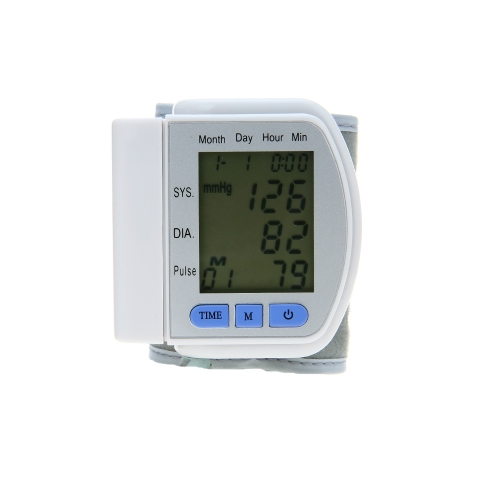 Automatic Wrist Blood Pressure Monitor Cuff 90 Data Memory/Pulse Rate/Auto Power off Digital SphygmomanometerHealth &amp; Beauty<br>Automatic Wrist Blood Pressure Monitor Cuff 90 Data Memory/Pulse Rate/Auto Power off Digital Sphygmomanometer<br>
