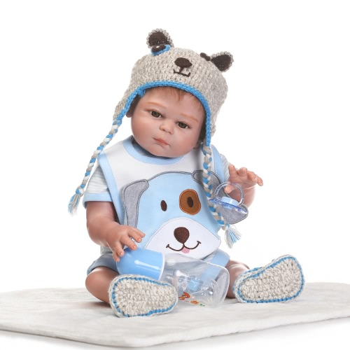 Reborn Baby Doll Girl Baby Bath Toy Full Silicone Body Eyes Open With Clothes 20inch 50cm Lifelike Cute Gifts Toy BoyHome &amp; Garden<br>Reborn Baby Doll Girl Baby Bath Toy Full Silicone Body Eyes Open With Clothes 20inch 50cm Lifelike Cute Gifts Toy Boy<br>
