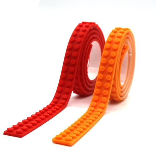 Reusable Silicone Building Blocks Tape for Lego Lover Kids Gift Portable No Harm to ChildrenHome &amp; Garden<br>Reusable Silicone Building Blocks Tape for Lego Lover Kids Gift Portable No Harm to Children<br>