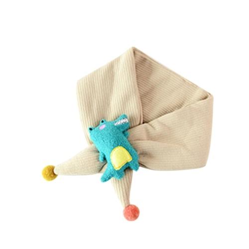 Sciarpa colorata in cotone per bambini