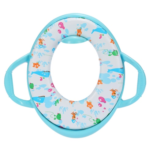 Karibu Kids Toddlers Soft Potty Seat with Handles for Standard ToiletsHome &amp; Garden<br>Karibu Kids Toddlers Soft Potty Seat with Handles for Standard Toilets<br>