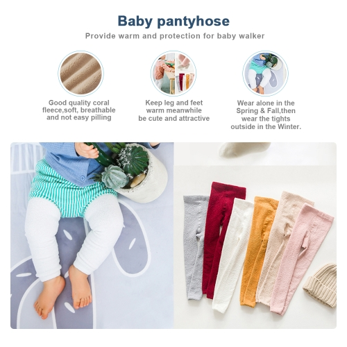 Baby Leggings Warmers Pantyhose Stocking Toddler Tight Stretch Soft Pants Coral Fleece For 0-1 Year Grey SHome &amp; Garden<br>Baby Leggings Warmers Pantyhose Stocking Toddler Tight Stretch Soft Pants Coral Fleece For 0-1 Year Grey S<br>