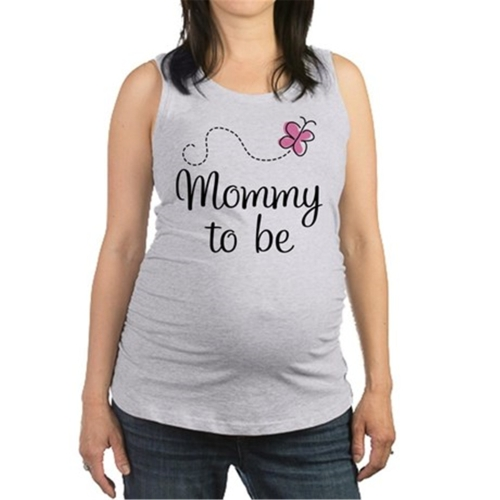 Maternity Top Shirt Sleeveless Round Neck Funny Word Pregnancy Mom Tops Tee Dark Blue LHome &amp; Garden<br>Maternity Top Shirt Sleeveless Round Neck Funny Word Pregnancy Mom Tops Tee Dark Blue L<br>