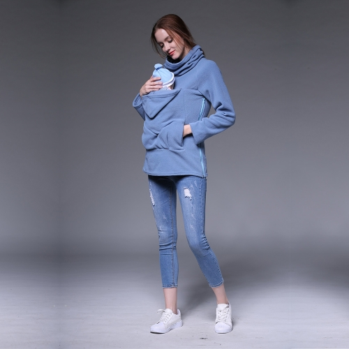 Womens Maternity Sweatshirt Kangaroo Hooded Outwear Coat Jacket for Baby Carriers Red XXLHome &amp; Garden<br>Womens Maternity Sweatshirt Kangaroo Hooded Outwear Coat Jacket for Baby Carriers Red XXL<br>