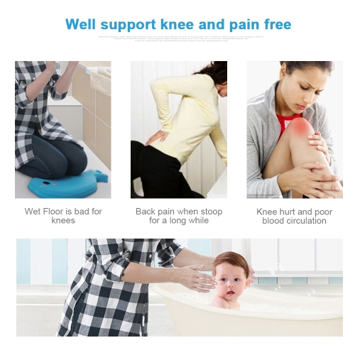 Foam Kneeler Pad Cushion Mat Waterproof Anti-Skid Protection For Baby Bathing BlueHome &amp; Garden<br>Foam Kneeler Pad Cushion Mat Waterproof Anti-Skid Protection For Baby Bathing Blue<br>
