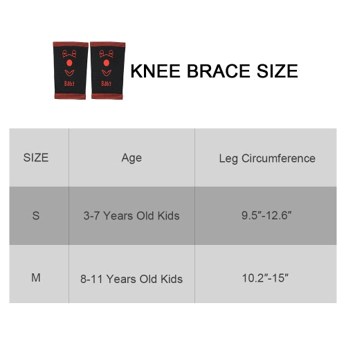 Child Cotton Knee Compression Sleeve Knee Brace Support Knee Pads Sport Protector Anti-Slip Stretchy for Kid Boys Girls Sport DancHome &amp; Garden<br>Child Cotton Knee Compression Sleeve Knee Brace Support Knee Pads Sport Protector Anti-Slip Stretchy for Kid Boys Girls Sport Danc<br>
