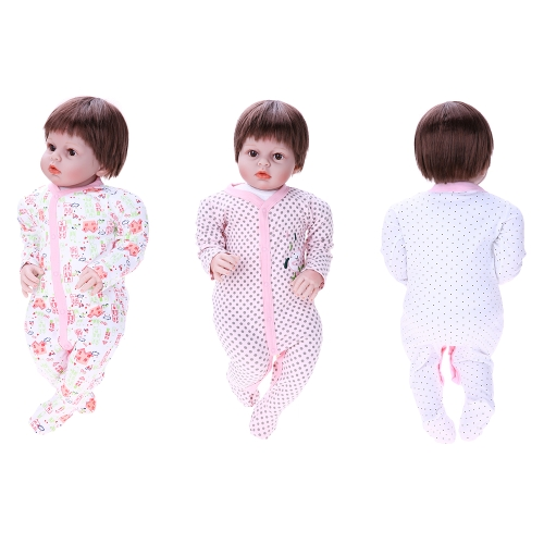 3pcs Baby Clothes Set Rompers Set For Girl 100% Cotton Jumpsuit Footsies Baby Clothing House Pattern 3MHome &amp; Garden<br>3pcs Baby Clothes Set Rompers Set For Girl 100% Cotton Jumpsuit Footsies Baby Clothing House Pattern 3M<br>
