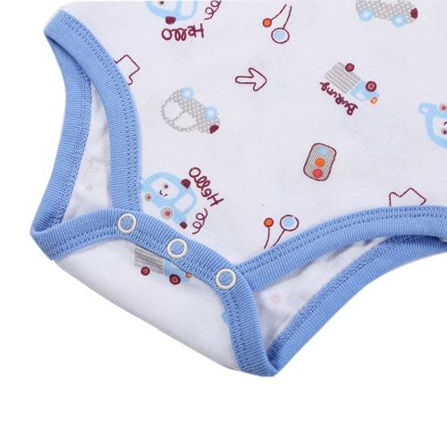 Baby Rompers Bodysuit 100% Cotton Short Sleeve Unisex Newborn Baby Clothing 0-3MHome &amp; Garden<br>Baby Rompers Bodysuit 100% Cotton Short Sleeve Unisex Newborn Baby Clothing 0-3M<br>