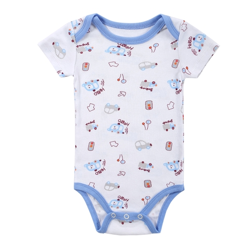 3pcs Baby Rompers Set Bodysuit 100% Cotton Short Sleeve Unisex Baby Clothing 0-3MHome &amp; Garden<br>3pcs Baby Rompers Set Bodysuit 100% Cotton Short Sleeve Unisex Baby Clothing 0-3M<br>