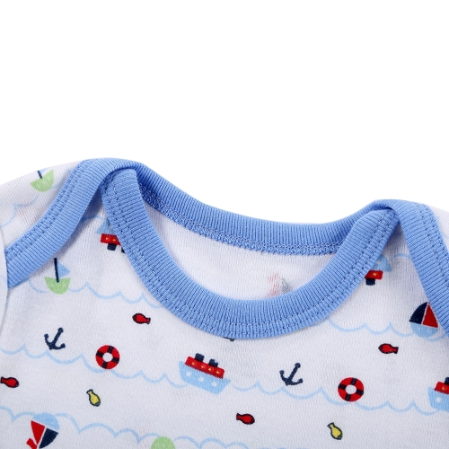 3pcs Baby Rompers Set Bodysuit 100% Cotton Short Sleeve Boy Baby Clothing 0-3MHome &amp; Garden<br>3pcs Baby Rompers Set Bodysuit 100% Cotton Short Sleeve Boy Baby Clothing 0-3M<br>