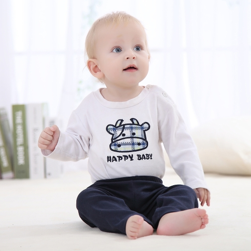 3Pcs Baby Pants Set 100% Cotton Unisex For Newborn Baby Infant 0-3MHome &amp; Garden<br>3Pcs Baby Pants Set 100% Cotton Unisex For Newborn Baby Infant 0-3M<br>