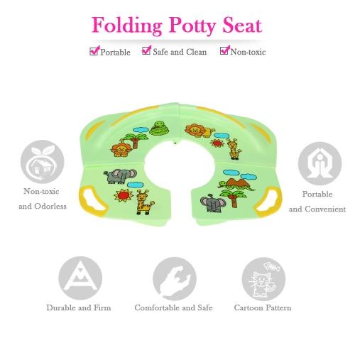 Karibu Kids Toddlers Home Travel Folding Potty Seat for Standard ToiletsHome &amp; Garden<br>Karibu Kids Toddlers Home Travel Folding Potty Seat for Standard Toilets<br>