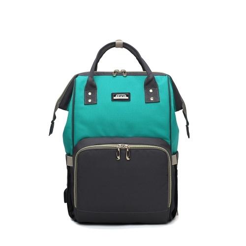 Bolsa de pañales multifunción mochila de viaje impermeable