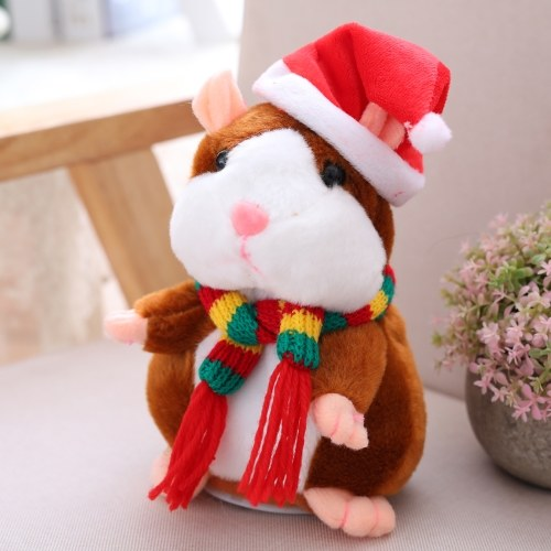 Electric Smart Little Talking Hamster record de repetición