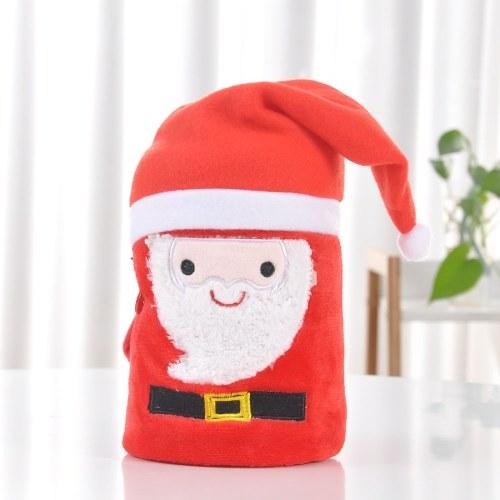 Coperta del bambino di Natale Flanella Swaddle Snuggle Super-Soft peluche