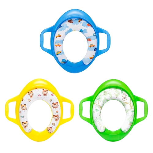 Kids Potty Ring Training Toilet Seat for Boys and Girls For Round And Oval Toilets BlueHome &amp; Garden<br>Kids Potty Ring Training Toilet Seat for Boys and Girls For Round And Oval Toilets Blue<br>