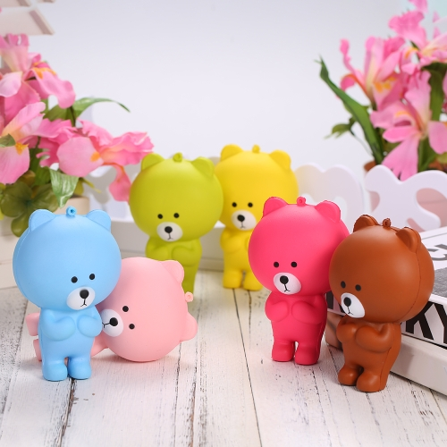 Cartoon Bear Squishy Jumbo Soft Slow Rising Stretchy Squeeze Funny Kids ToyHome &amp; Garden<br>Cartoon Bear Squishy Jumbo Soft Slow Rising Stretchy Squeeze Funny Kids Toy<br>