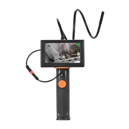 Appareil-photo industriel d'inspection d'endoscope de Borescope imperméable à l'eau tuyau 4,3 de diamètre de diamètre de 8,5 millimètres d'écran d'affichage à cristaux liquides de 4,3 pouces 6 LED batterie rechargeable