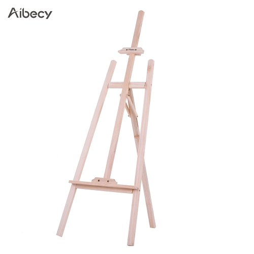 150cm/ 59 Inch Durable Art Artist Wood Wooden Easel Sketch Drawing Stand NZ Pine for Painting Sketching Display ExhibitionComputer &amp; Stationery<br>150cm/ 59 Inch Durable Art Artist Wood Wooden Easel Sketch Drawing Stand NZ Pine for Painting Sketching Display Exhibition<br>