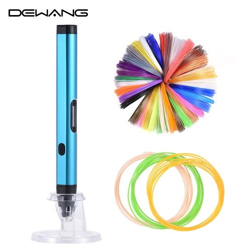 Dewang DW-X4 3D Printing Pen Printer Intelligence Drawing OLED Screen w/ 200m/656.2ft ABS + 9m/29.5ft PLA Filament 1.75mm for DIYComputer &amp; Stationery<br>Dewang DW-X4 3D Printing Pen Printer Intelligence Drawing OLED Screen w/ 200m/656.2ft ABS + 9m/29.5ft PLA Filament 1.75mm for DIY<br>