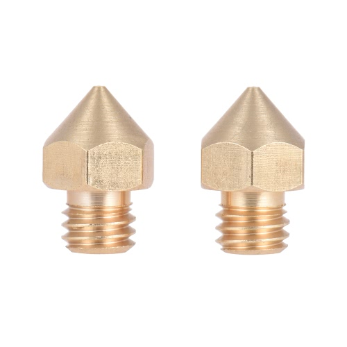 2pcs Brass Nozzle Extruder 3D Printer Head 0.2mm Output for 1.75mm ABS PLA Filament for Makerbot Anet RepRap Prusa i3Computer &amp; Stationery<br>2pcs Brass Nozzle Extruder 3D Printer Head 0.2mm Output for 1.75mm ABS PLA Filament for Makerbot Anet RepRap Prusa i3<br>