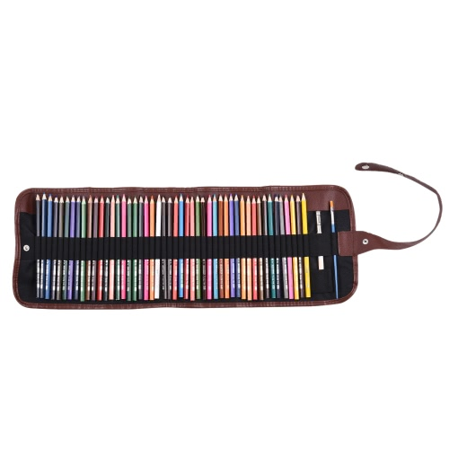 48 Colors Water Soluble Colored Pencils Set Art Painting Sketching Drawing Supplies with Pencil Bag for School Adult Kids ColoringComputer &amp; Stationery<br>48 Colors Water Soluble Colored Pencils Set Art Painting Sketching Drawing Supplies with Pencil Bag for School Adult Kids Coloring<br>