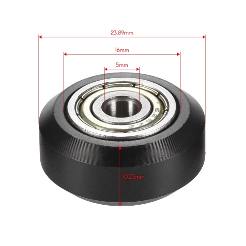 3pcs Plastic Large Model Passive Round Wheel Pulley with Bearing Gear Wheel for CNC i3 3D PrinterComputer &amp; Stationery<br>3pcs Plastic Large Model Passive Round Wheel Pulley with Bearing Gear Wheel for CNC i3 3D Printer<br>