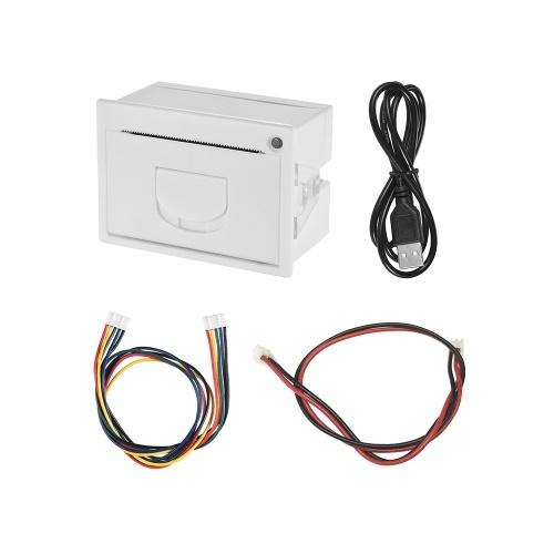 GOOJPRT QR204 58mm Mini Impressora Térmica de Recibos RS232 + USB Interface de Impressão de Alta Velocidade 50-85mm / s
