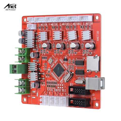 Anet A1284-Base Control Board Mother Board Mainboard for Anet A6 DIY Self Assembly 3D Desktop Printer RepRap Prusa i3 KitComputer &amp; Stationery<br>Anet A1284-Base Control Board Mother Board Mainboard for Anet A6 DIY Self Assembly 3D Desktop Printer RepRap Prusa i3 Kit<br>