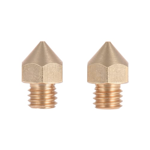 2pcs Brass Nozzle Extruder 3D Printer Head 0.3mm Output for 1.75mm Filament for Makerbot Anet RepRap Prusa i3Computer &amp; Stationery<br>2pcs Brass Nozzle Extruder 3D Printer Head 0.3mm Output for 1.75mm Filament for Makerbot Anet RepRap Prusa i3<br>