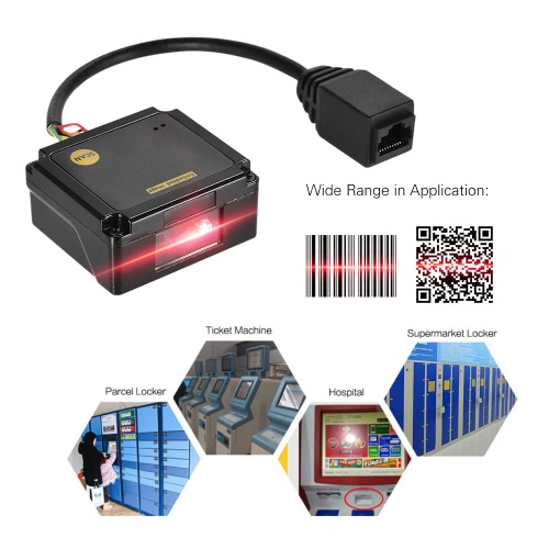 Embedded 1D 2D Barcode Scanner Reader Module CCD Bar Code Scanner Engine Module with RS232 InterfaceComputer &amp; Stationery<br>Embedded 1D 2D Barcode Scanner Reader Module CCD Bar Code Scanner Engine Module with RS232 Interface<br>