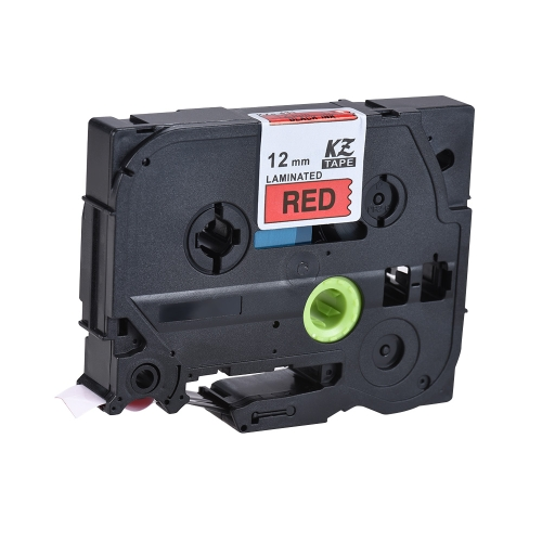 Laminated Label Tape Black on Red Compatible for Brother P-touch Label Printer PT-1010/PT-2100/PT-18R/PT-E200/PT-9500 9mm * 8mComputer &amp; Stationery<br>Laminated Label Tape Black on Red Compatible for Brother P-touch Label Printer PT-1010/PT-2100/PT-18R/PT-E200/PT-9500 9mm * 8m<br>