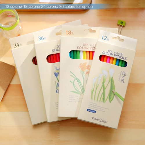 12 Colors Non-toxic Drawing Wood Coloring Colored Pencils Set Painting Stationery for Students Artist   AdultsHome &amp; Garden<br>12 Colors Non-toxic Drawing Wood Coloring Colored Pencils Set Painting Stationery for Students Artist   Adults<br>