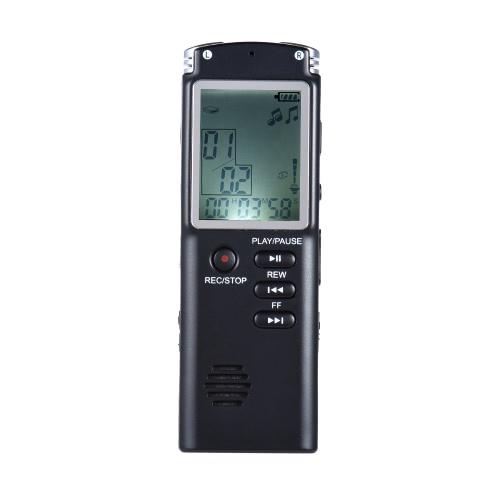 SK-301 8GB 1536Kbps Аудио Диктофон MP3 плеер Диктофон Voice Activate (ВДП) AB Повтор Телефонный разговор Запись