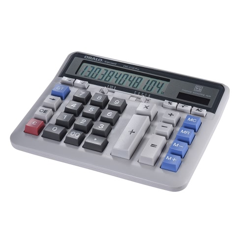Large Computer Electronic Calculator Counter Solar &amp; Battery Power 12 Digit Display Multi-functional Big Button  for Business OffiComputer &amp; Stationery<br>Large Computer Electronic Calculator Counter Solar &amp; Battery Power 12 Digit Display Multi-functional Big Button  for Business Offi<br>