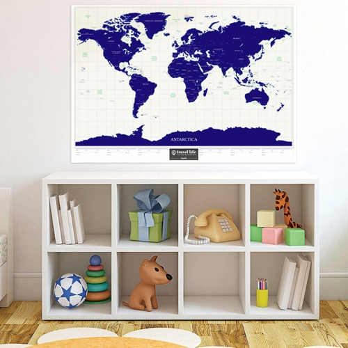 Scratch Off World Travel Map Poster Copper Foil Wall Sticker Personalized Journal LogComputer &amp; Stationery<br>Scratch Off World Travel Map Poster Copper Foil Wall Sticker Personalized Journal Log<br>