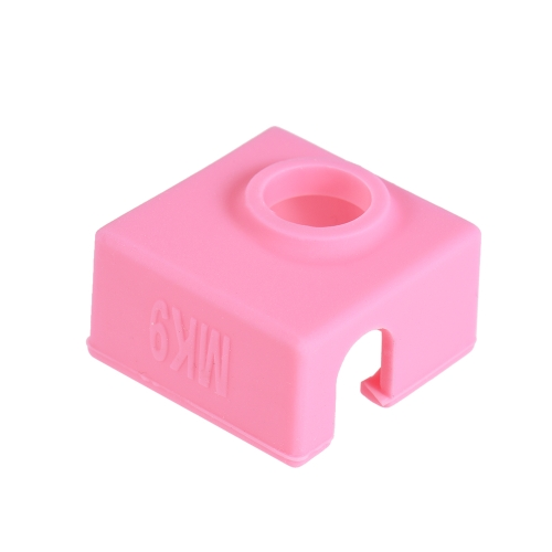 1pc Silicone Socks Cover Heating Insulation Case 280�� High-temperature Resistant for MK7/MK8/MK9 Heater Block