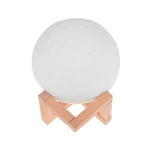 Lampe à LED Moon Light avec impression sur support 3D et support 3D