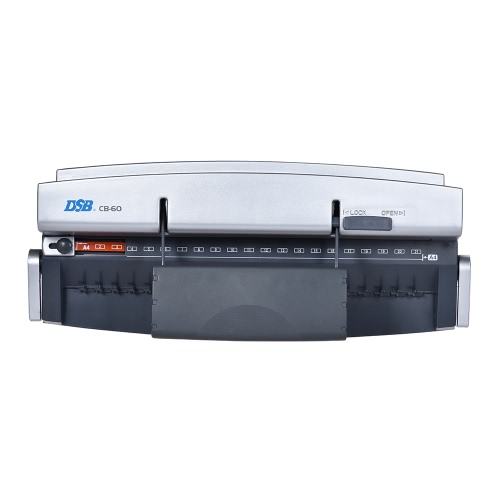 DSB CB-60 A4 Paper Puncher + Binder Punch Binding Machine School Office Supply, 21 Holes, 8 sheets Punching, 95 sheets BindingComputer &amp; Stationery<br>DSB CB-60 A4 Paper Puncher + Binder Punch Binding Machine School Office Supply, 21 Holes, 8 sheets Punching, 95 sheets Binding<br>